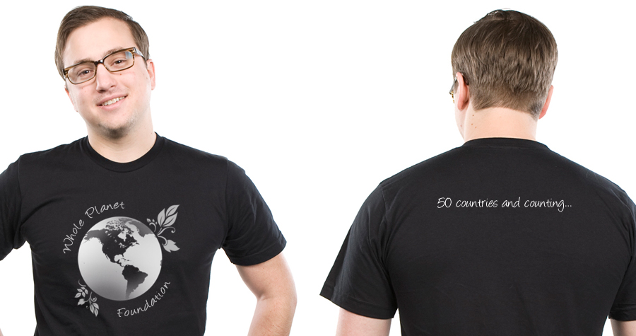 T-Shirt Design for Whole Planet Foundation