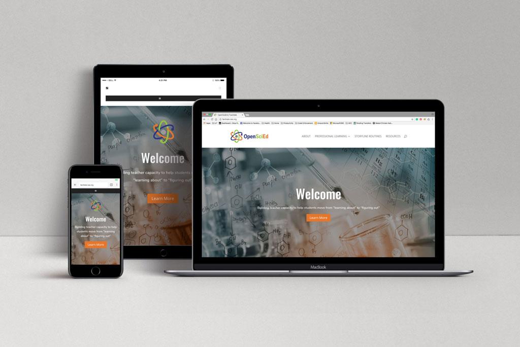 open sci-ed website example