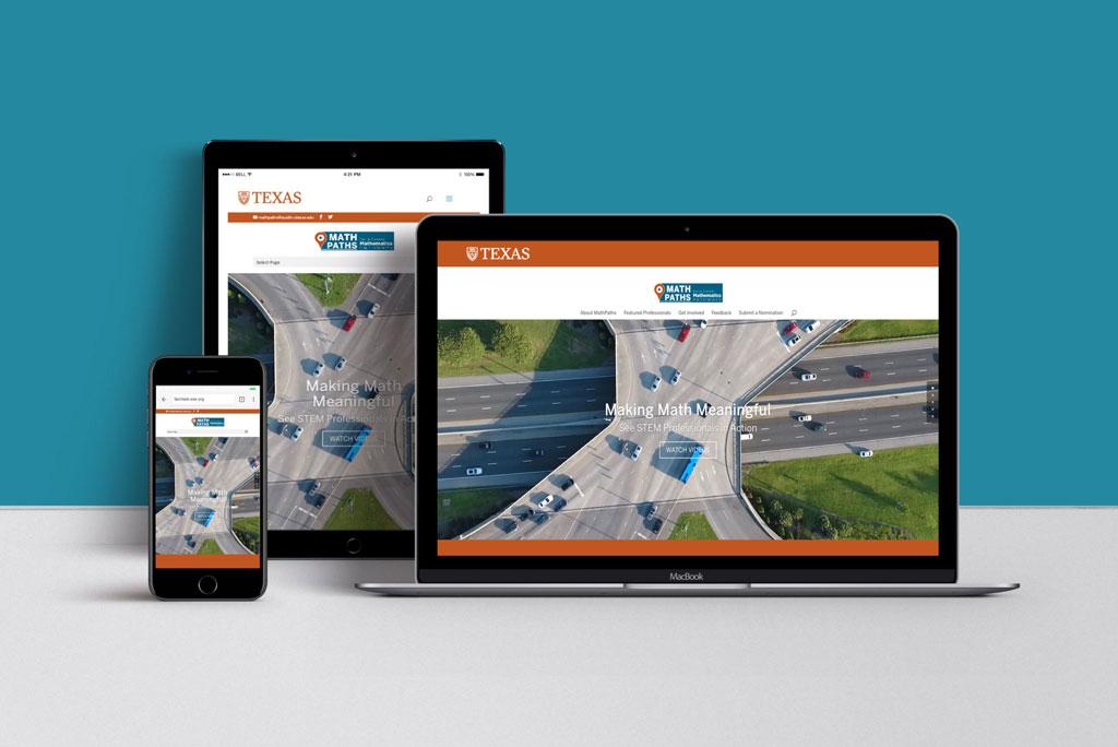 University of Texas Mathpaths Website Example